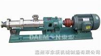 螺杆泵/浓浆泵