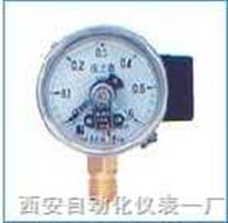 径向带后边电接点压力表 YX-100T径向带后边电接点压力表