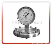 雅德仪表有限公司专业生产各式工业压力表防腐蚀膜片压力表、隔膜压力表、工字型隔膜压力表