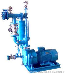 气冷罗茨往复泵真空机组产品特点