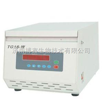 湘麓TG16-W台式高速微量离心机