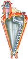 0535-2358168-双锥形混合机与双锥型混合机